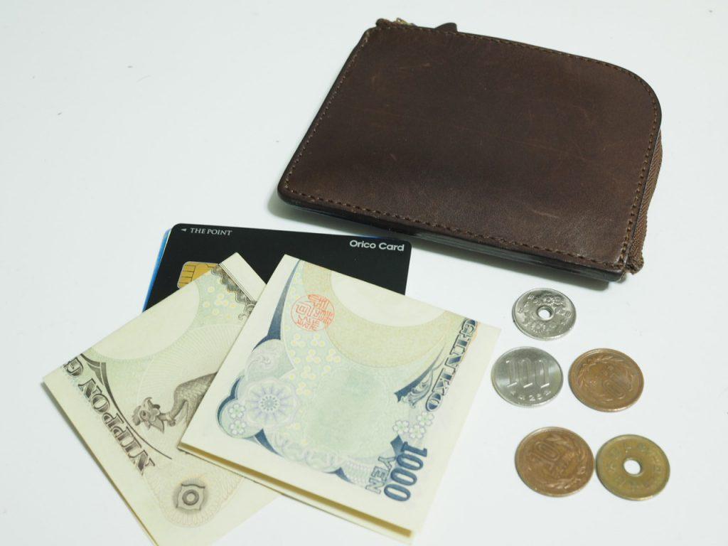 2b57a538a90b 土屋鞄 Lファスナー[使用レビュー] 薄い財布でミニマリストな生活の勧め