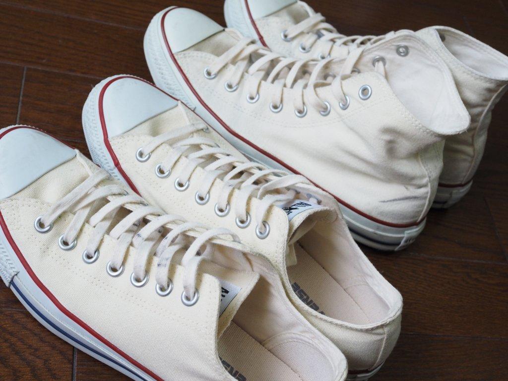 コンバースの靴紐を交換する時の長さを種類別に紹介[メンズ